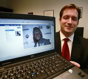 Assistant U.S. Attorney Michael Scoville shows off Facebook crime fighting technique (AP)