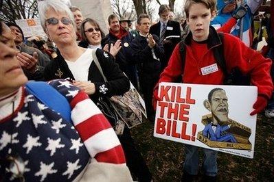 Political hardball dominates bitter health care bill lobbying
