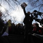 Tea Party activists rally in Washington (AP)