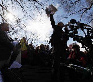 Tea Party activists rally in Washington (AP)