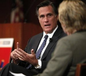 GOP Presidential Hopeful Mitt Romney: He supported mandatory health insurance as Governor (AP)