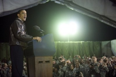 Obama caps big week with surprise visit for Afghanistan