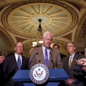 Sen. John Cornyn and other Republicans: On second thought...(AP)