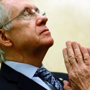 Sen. Harry Reid: Not even prayer can help