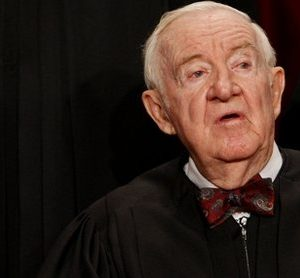 Supreme Court Justice John Paul Stevens (AP)
