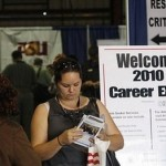 Hunting for jobs in Pheonix (AFP)
