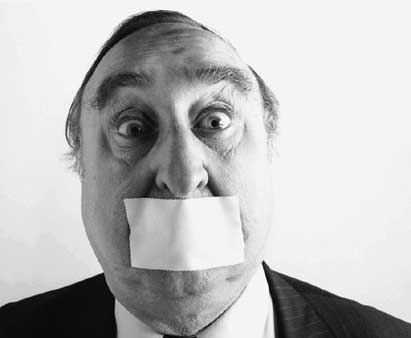 Recognizing attempts to gag free speech