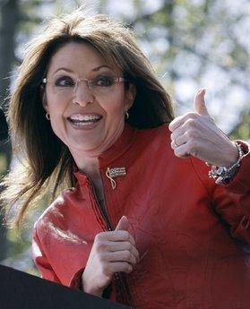 Sarah Palin on the attack (AP)