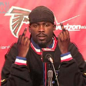 Convicted felon Michael Vick