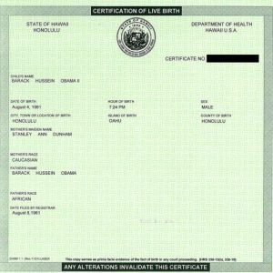 Obama's birth certificate: Truth doesn't matter to birther movement