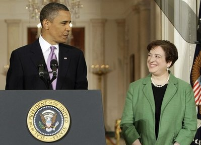 Obama Kagan Supreme Court