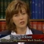 Souder&#039;s mistress: Tracy Jackson