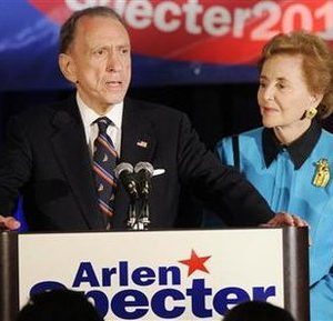 Sen. Arlen Specter: Turn out the lights, the party's over (Reuters)