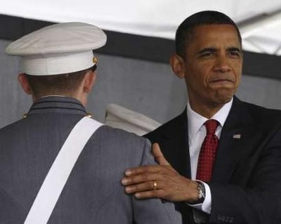 Obama, at West Point, repudiates Bush's failed foreign policy
