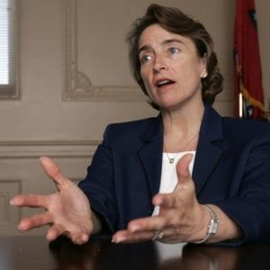 Sen. Blanche Lincoln: Endangered species (AP)