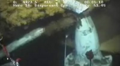 BP screws up another attempt to stop massive oil spill