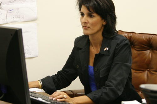 Another day, another claim of an affair with Nikki Haley
