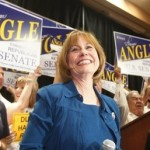 Tea Party favorite Sharron Angle: Crazies to the forefront (AP)