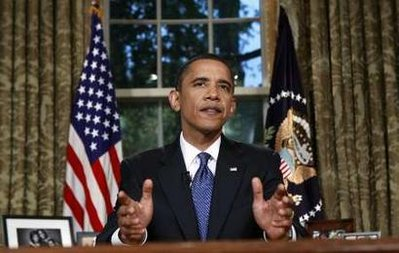 Obama's Oval Office address: Too little, too late? (Reuters)