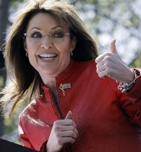 Tea Party centerfold Sarah Palin: Mining a tragedy (AP)