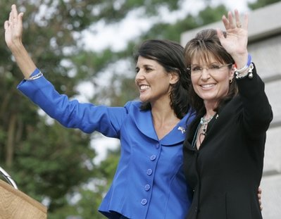 Sarah Palin, Nikki Haley
