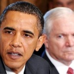President Barack Obama and Defense Secretary Gates (AFP)