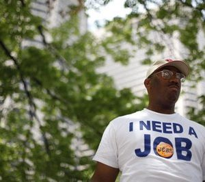 Frank Wallace, out of work since May 2009: No help from GOP (AP)