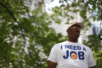 Frank Wallace: Unemployed and without benefits (AP)