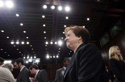 Supreme Court nomness Elena Kagan (AP)