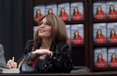 Palin won't just fade away