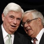 Democrats Christopher Dodd and Barney Frank (Reuters)
