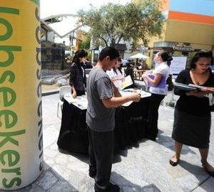 Jobs fair in San Diego (AFP)