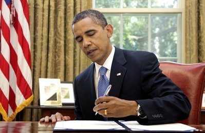 Obama signs unemployment bill
