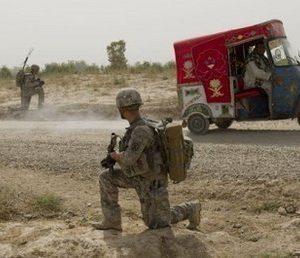 U.S. soldier in Afghanistan (AP)