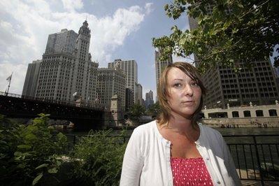 Kasey Doshier in Chicago (AP)