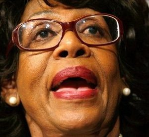 Rep. Maxine Waters: Another symbol of Democratic corruption (AFP)