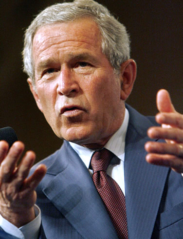 Obama's plan: Bash Bush