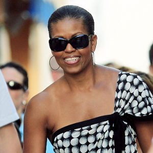 First Lady Michele Obama in Spain: The material girl? (AP)