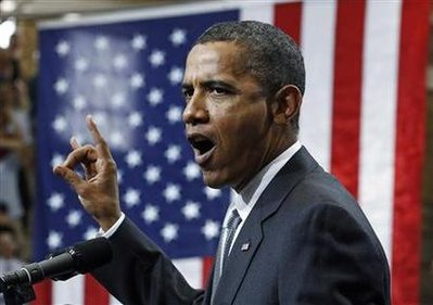 Obama ramps up anti-Bush rhetoric