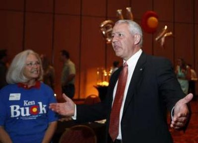 Colorado Senate candidate Ken Buck (AP)