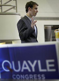 Quayle calls Obama 'worst president in history'