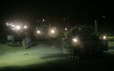 Combat troops leave Iraq (AP)