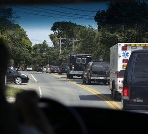 Obama's motorcade (AP)