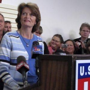 Ousted Sen. Lisa Murkowski (AP)