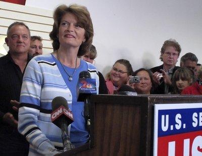Lisa Murkowski: Bye bye seniority (AP)
