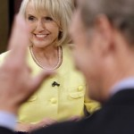 Arizona Gov. Jan Brewer: Hello, is anybody home? (AP)