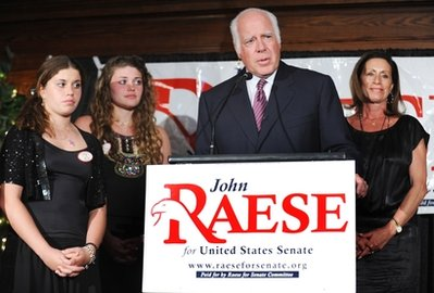 Republican Senatorial candidate John Raese: A new low in dirty politics? (AP)