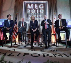 Meg Whitman campaigns in California (AP)