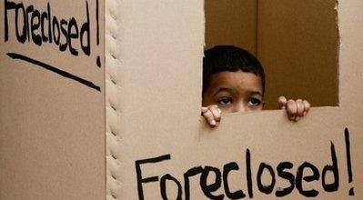 Foreclosures rise again