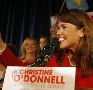 Delaware Republican senatorial candidate Christine O'Donnell (Reuters)